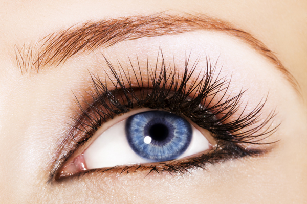 Long lashes with latisse