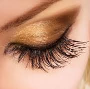 Stunning eyelashes